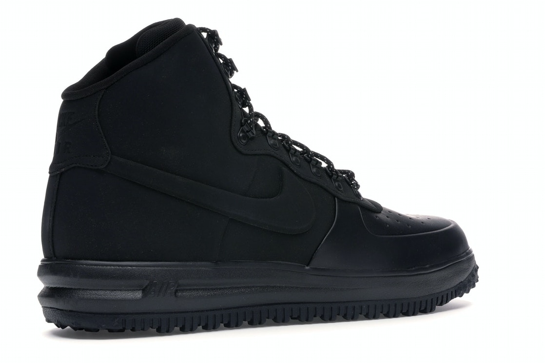 27cfecf286801 Nike Lunar Force 1 Duckboot 18 Triple Black - BQ7930-003
