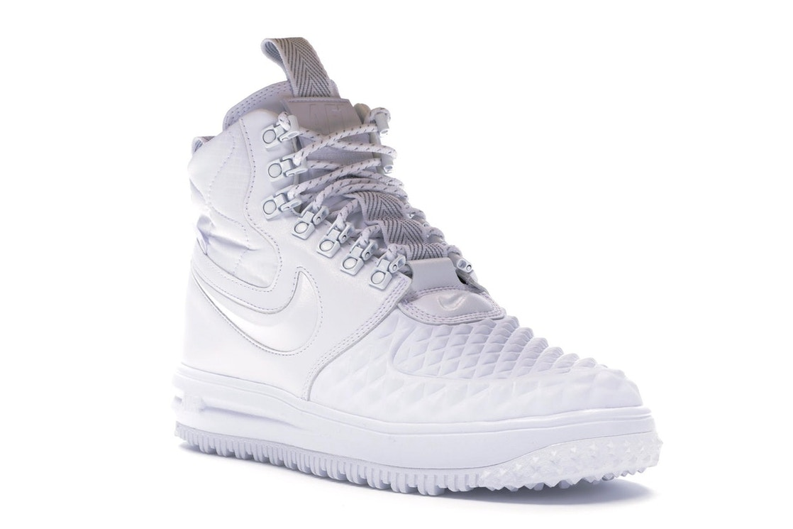detailed look a00a0 7ea08 Nike Lunar Force 1 Duckboot Winter White - AA1123-100