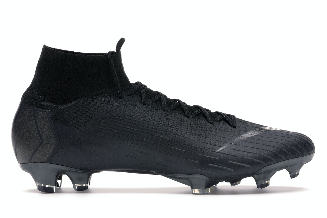 best prices coupon codes huge selection of Nike Mercurial Superfly 360 Elite FG Triple Black