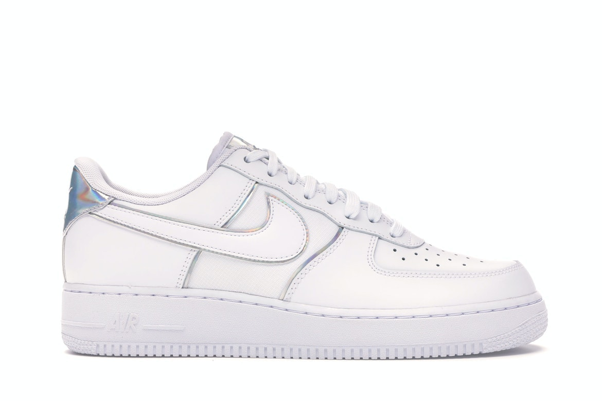 Nike Air Force 1 '07 LV8 4 White Silver