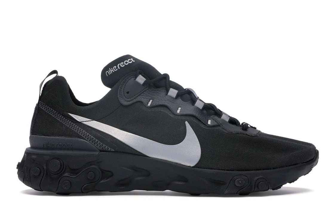 Vástago Edición Deportes  Nike React Element 55 Black Reflect - BV1507-002