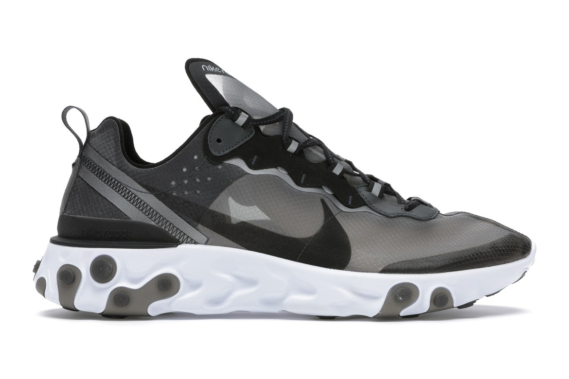 Sell. or Ask. Size 10.5. View All Bids. Nike React Element 87 Anthracite  Black