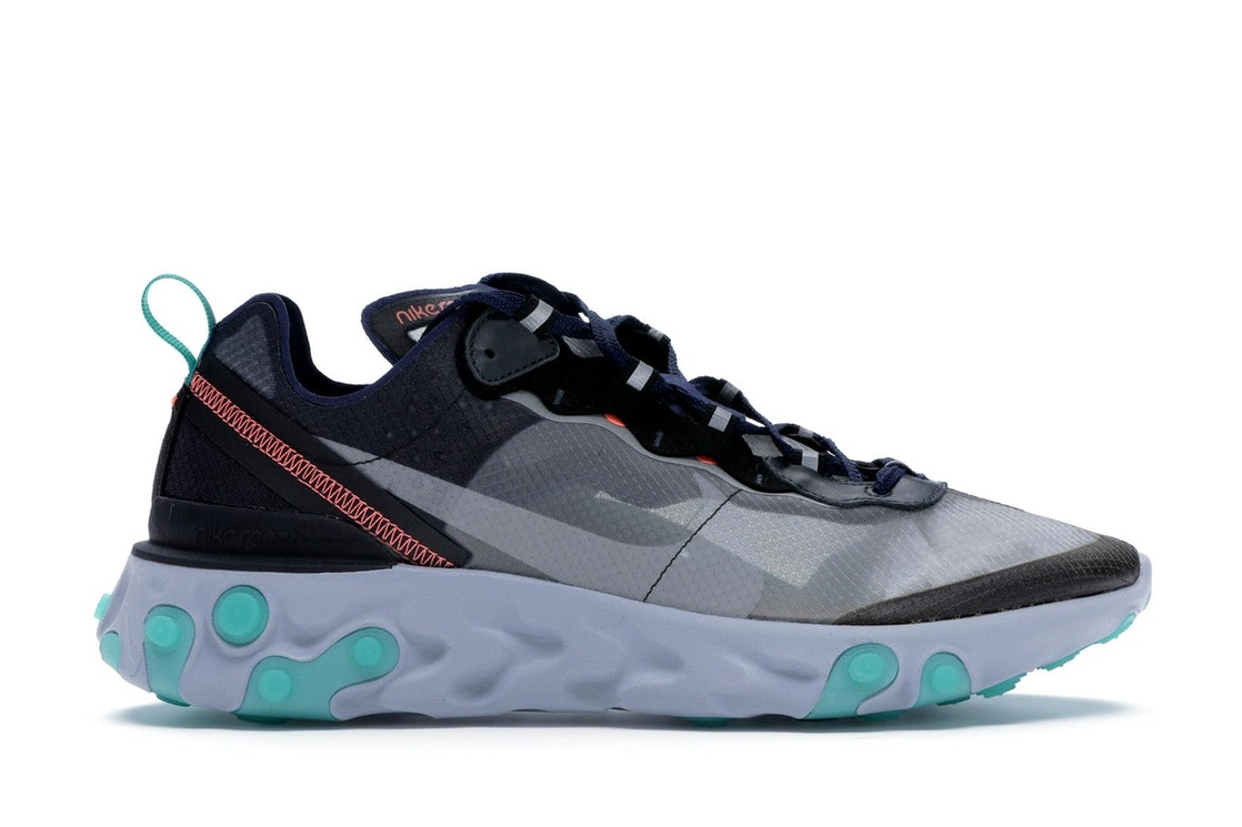 9eba57dcc5375 Sell. or Ask. Size  14. View All Bids. Nike React Element 87 Black Neptune  Green