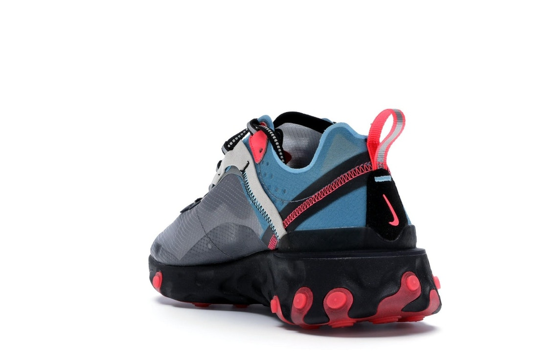 separation shoes ef7b5 0bead Nike React Element 87 Blue Chill Solar Red - AQ1090-006