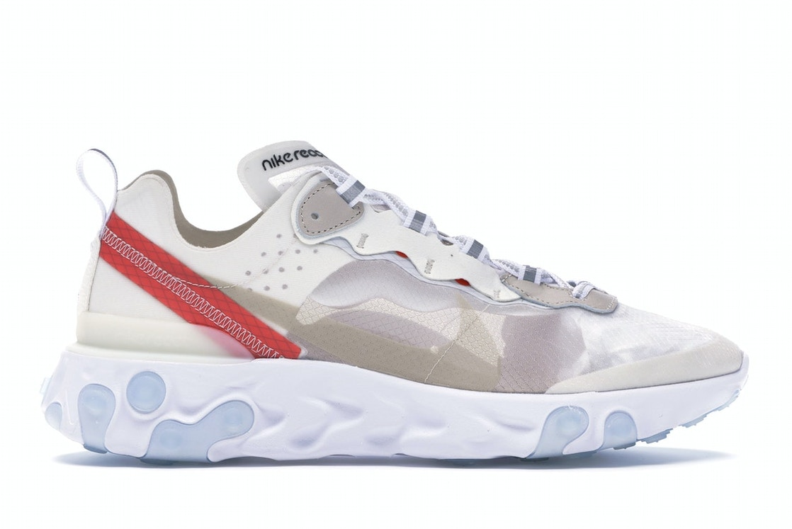 61cab6ad Sell. or Ask. Size: 8.5. View All Bids. Nike React Element 87 Sail Light  Bone