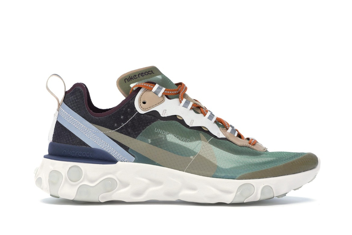 UNDERCOVER x NIKE EPIC REACT ELEMENT 87 AQ1813 341 WHITE