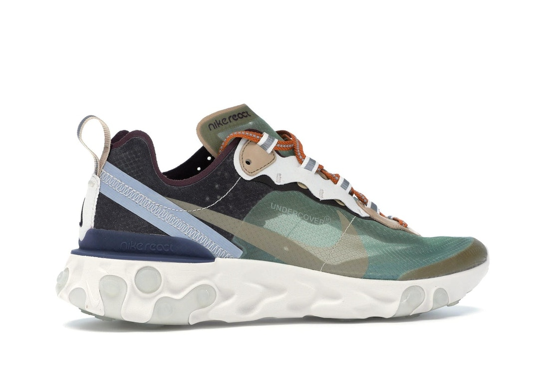 32a5bb3784a9 Nike React Element 87 Undercover Green Mist - BQ2718-300