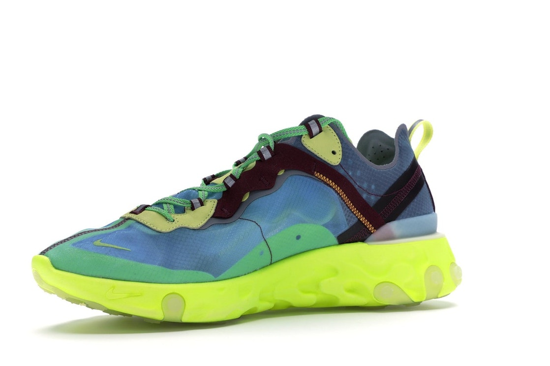 huge discount 2a056 72aa1 Nike React Element 87 Undercover Lakeside - BQ2718-400