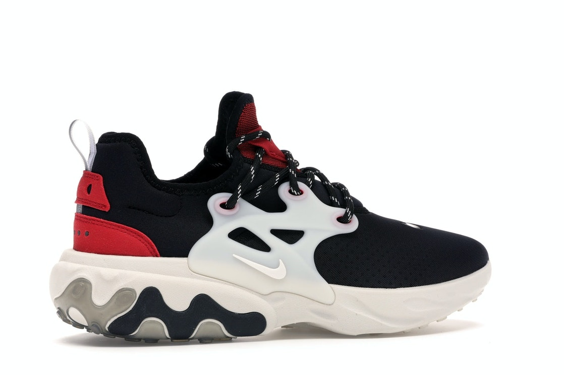 Ver insectos meteorito Manto  Nike React Presto Black Phantom Red - AV2605-002