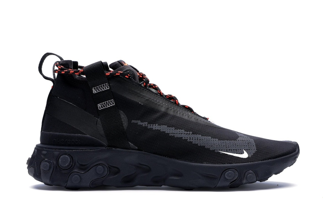 álbum Parlamento Mejor  Nike React Runner Mid WR ISPA Black - AT3143-001