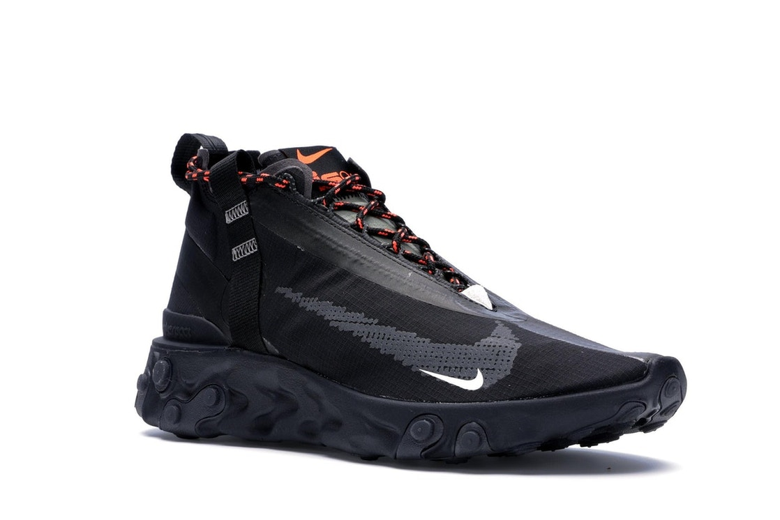 3cd3f81ddd483 Nike React Runner Mid WR ISPA Black - AT3143-001