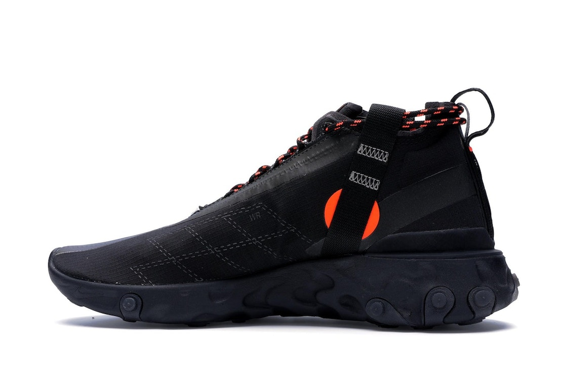 sports shoes 52caf 689dd Nike React Runner Mid WR ISPA Black - AT3143-001