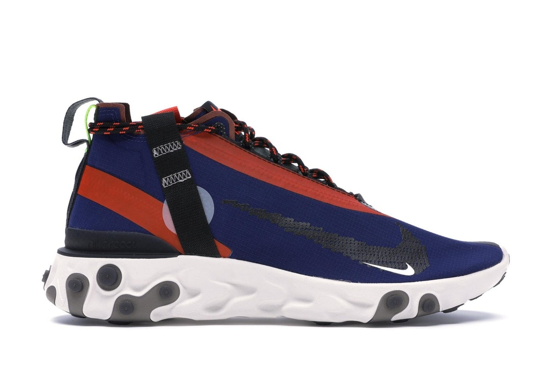 4ae29cf423a Sell. or Ask. Size  12. View All Bids. Nike React Runner Mid WR ISPA Blue  Void Team Orange