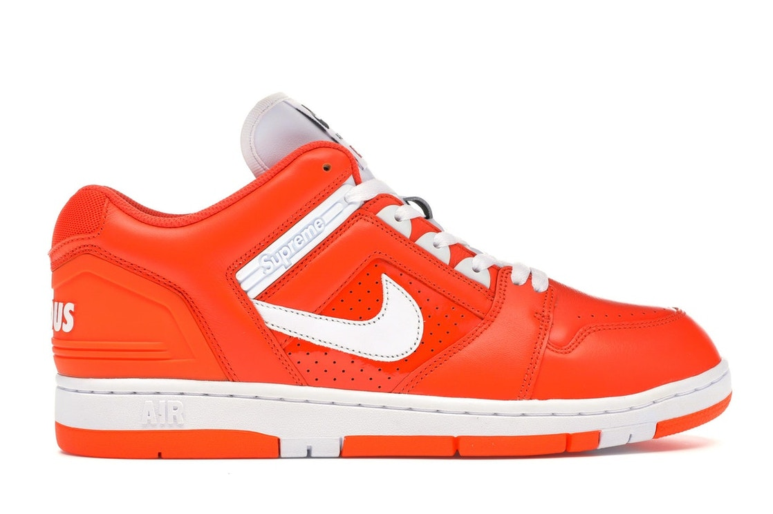1711090d Nike SB Air Force 2 Low Supreme Orange - AA0871-818