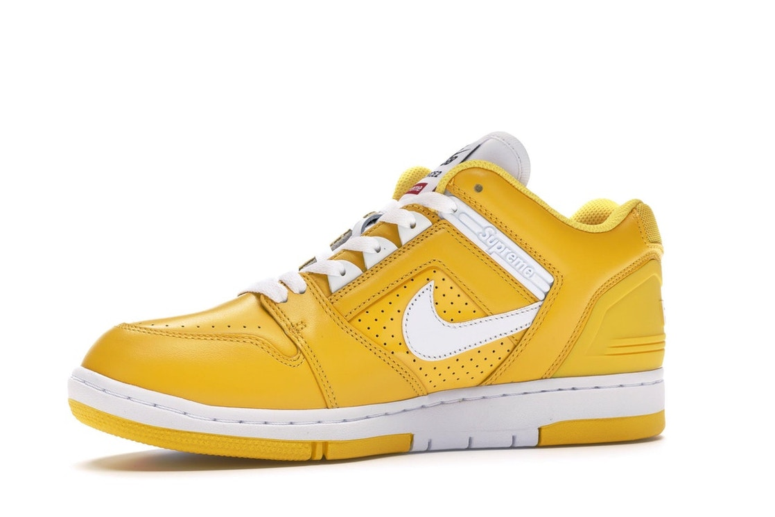 ec55c74d Nike SB Air Force 2 Low Supreme Yellow - AA0871-717