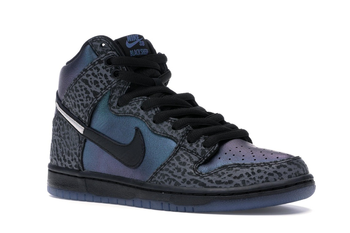 best service 75590 3350d Nike SB Dunk High Black Sheep Hornet - BQ6827-001