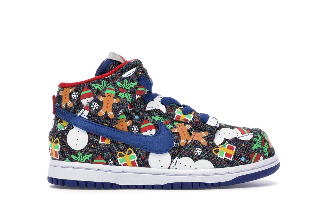 bce49d6b12a Sell. or Ask. Size  10. View All Bids. Nike SB Dunk High Concepts Ugly  Christmas Sweater ...