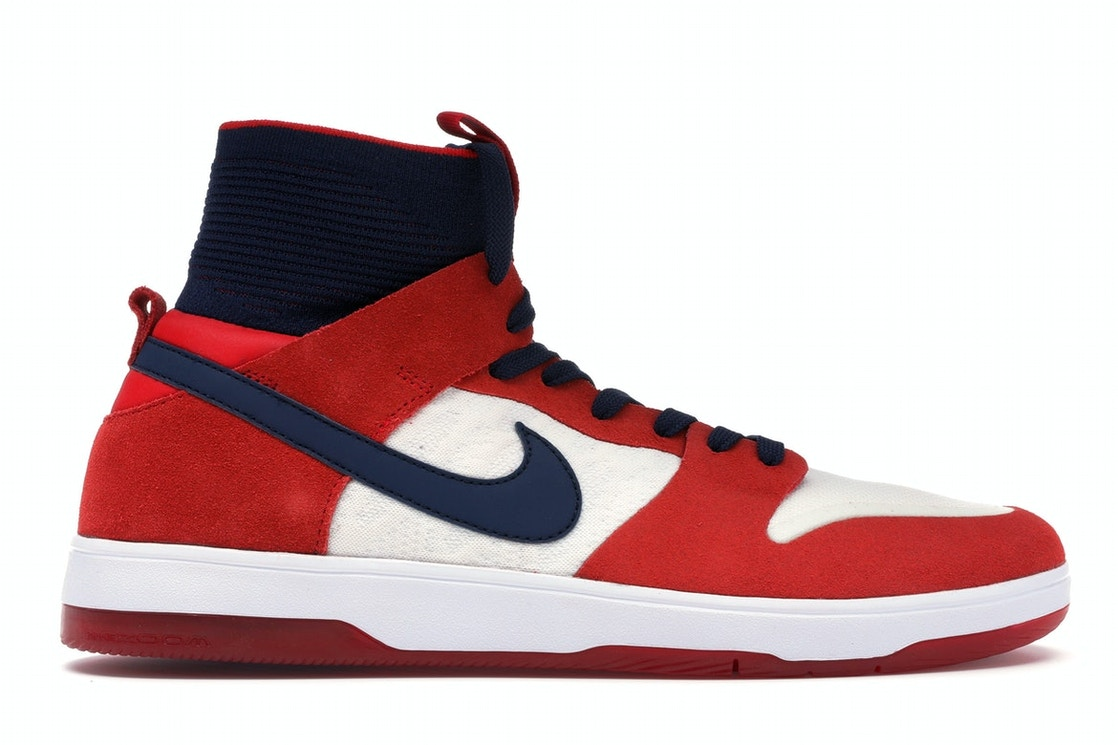 9886c5349425 Sell. or Ask. Size 7. View All Bids. Nike SB Dunk High Elite Red Navy White