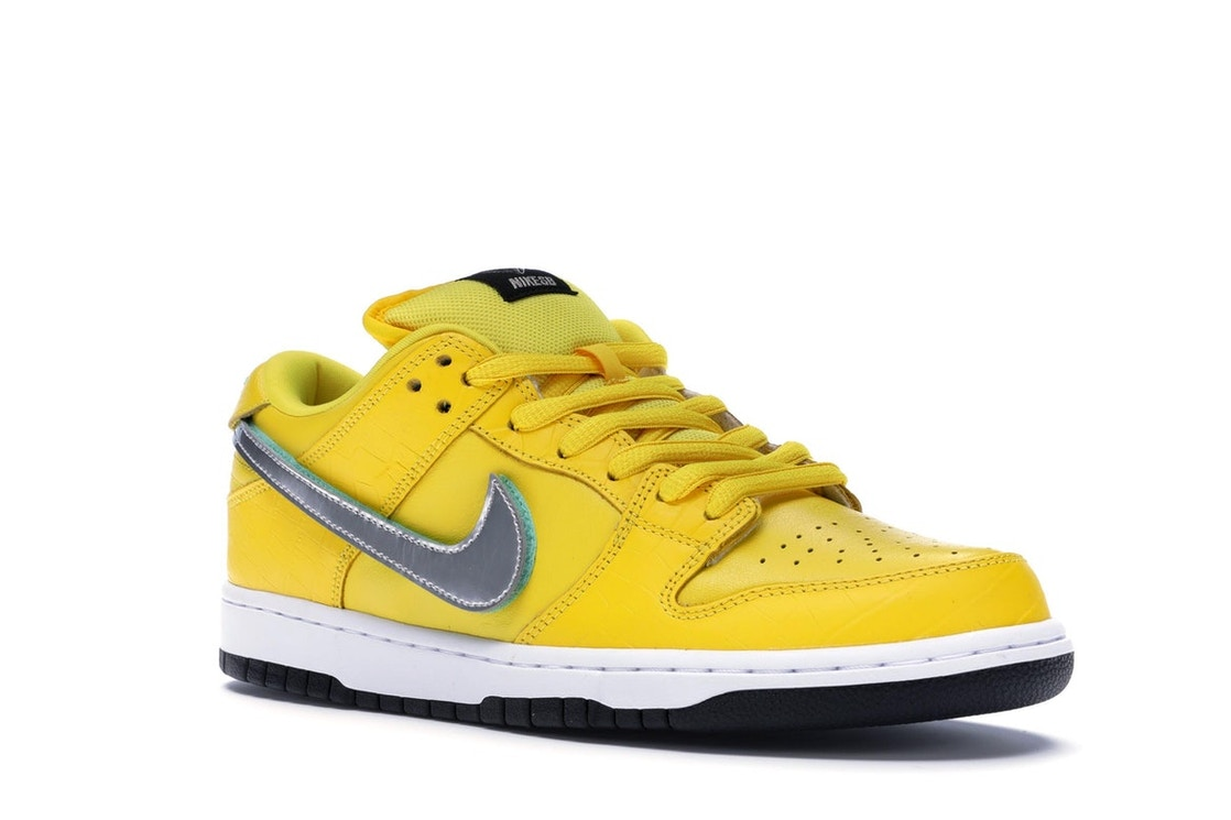 sports shoes fe3fc 1c0b7 Nike SB Dunk Low Diamond Supply Co Canary Diamond (Friends and Family) -  BV1310-700