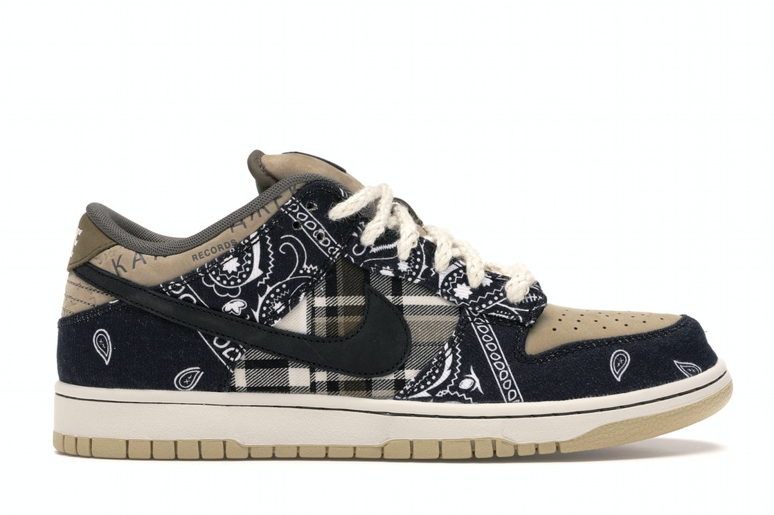 corriente Descuido posterior  Nike SB Dunk Low Travis Scott (Regular Box) - CT5053-001