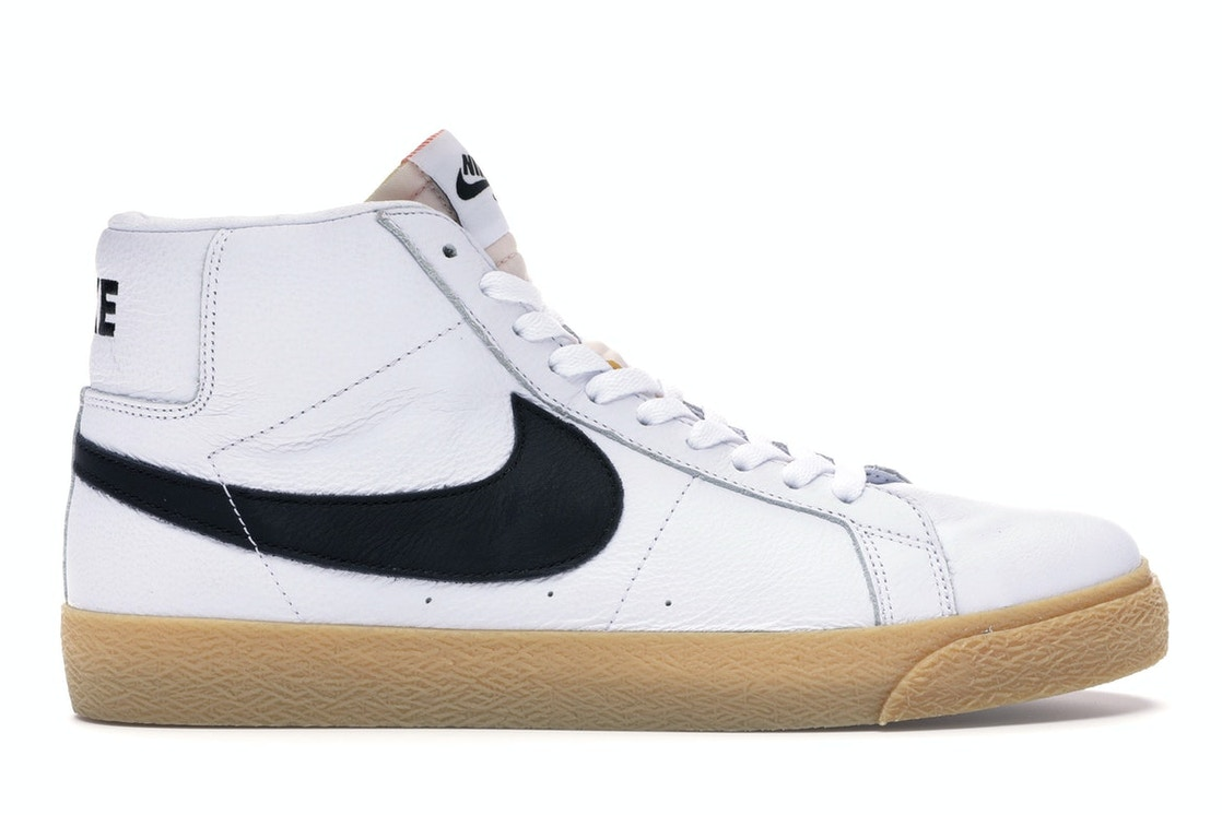 best service cf1c8 7fa50 Nike SB Zoom Blazer Mid ISO Orange Label White Gum