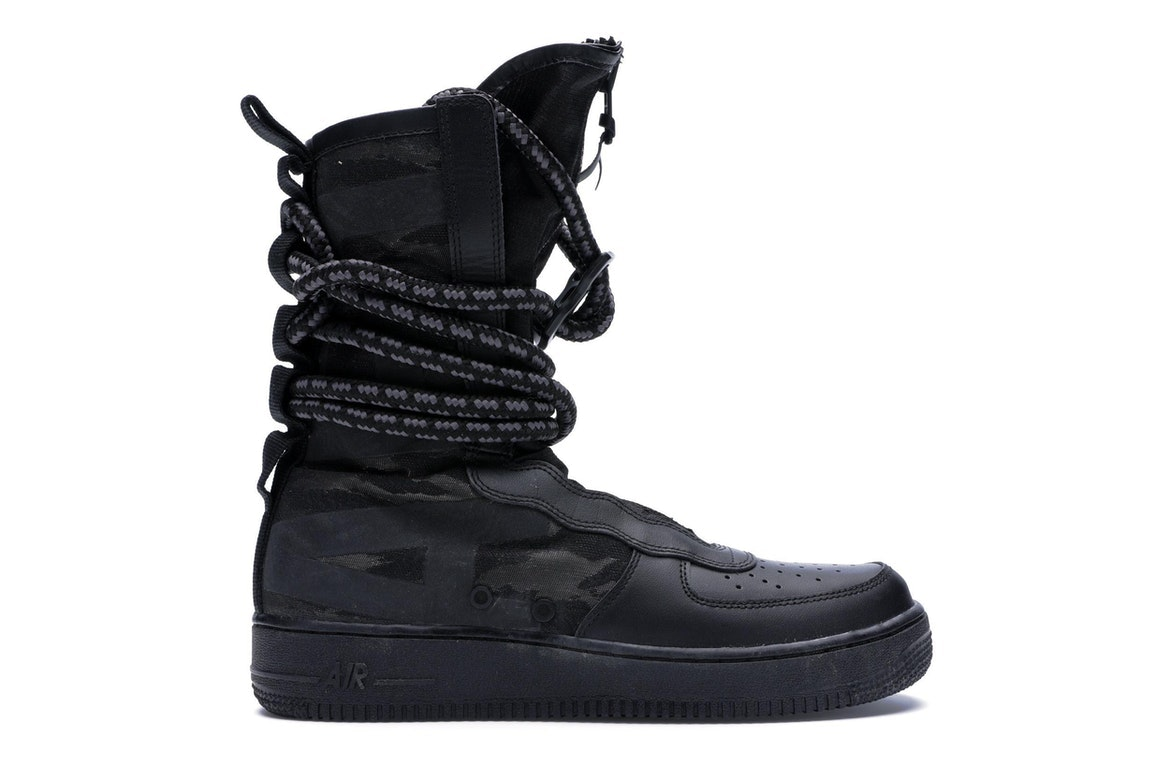 SF Air Force 1 High Black Dark Grey