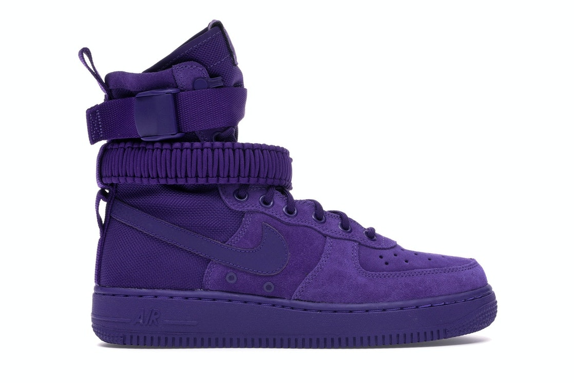 low priced 82ad2 4161a Sell. or Ask. Size 10. View All Bids. Nike SF Air Force 1 High Court Purple