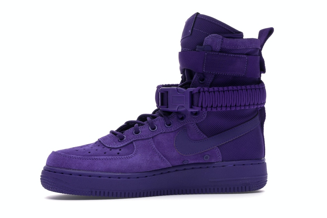 83cf3f7304ab62 Nike SF Air Force 1 High Court Purple - 864024-500