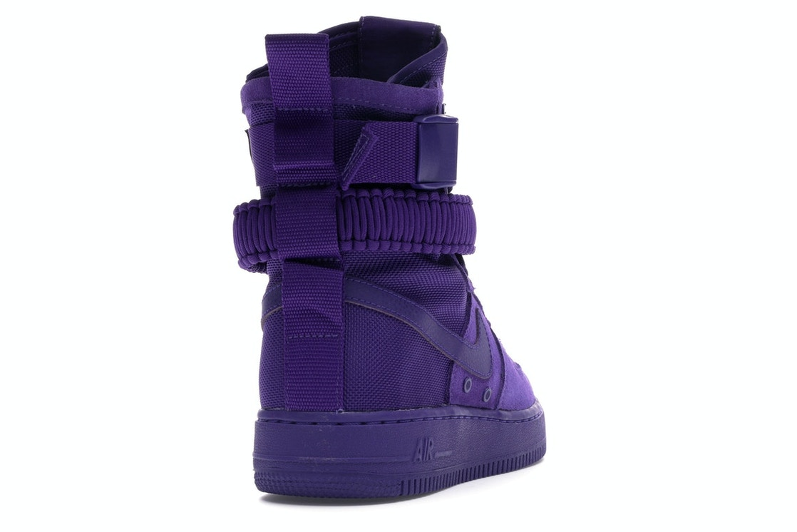 quality design d2ee2 ccc60 Nike SF Air Force 1 High Court Purple - 864024-500