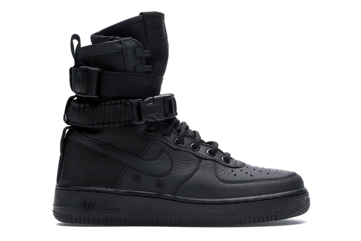 61cb59edfa5 Nike air force high triple black jpg 1118x746 Black wedge nike