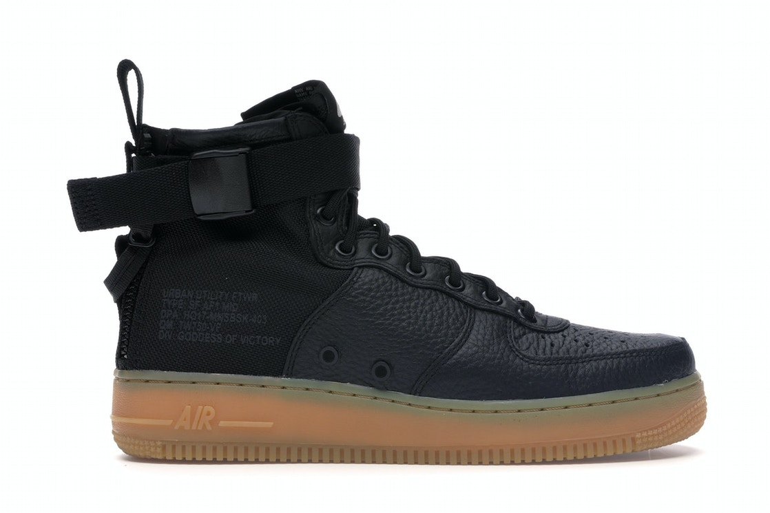 newest 51b44 d9216 Sell. or Ask. Size 6. View All Bids. Nike SF Air Force 1 Mid Black Gum