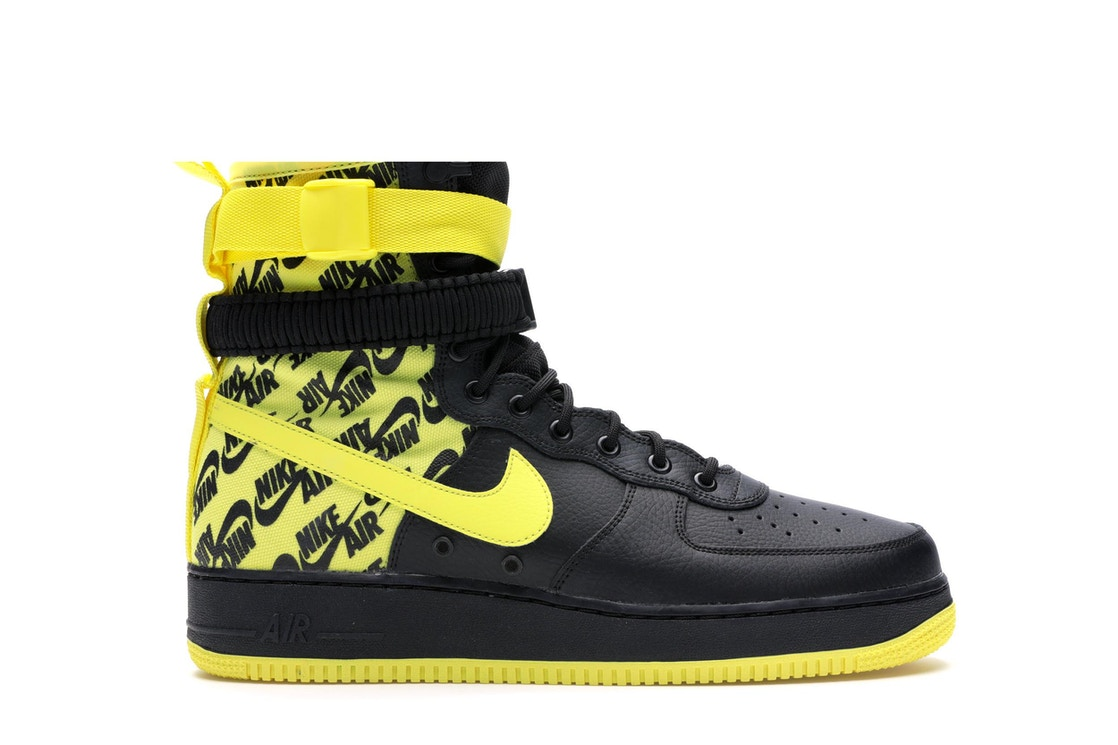 Sell. or Ask. Size 7. View All Bids. SF Air Force 1 High Black Dynamic  Yellow 2ac00ca89