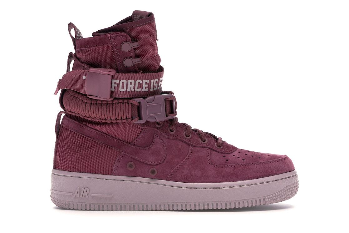 more photos 3a883 e7dd1 SF Air Force 1 High Force Is Female Vintage Wine (W)