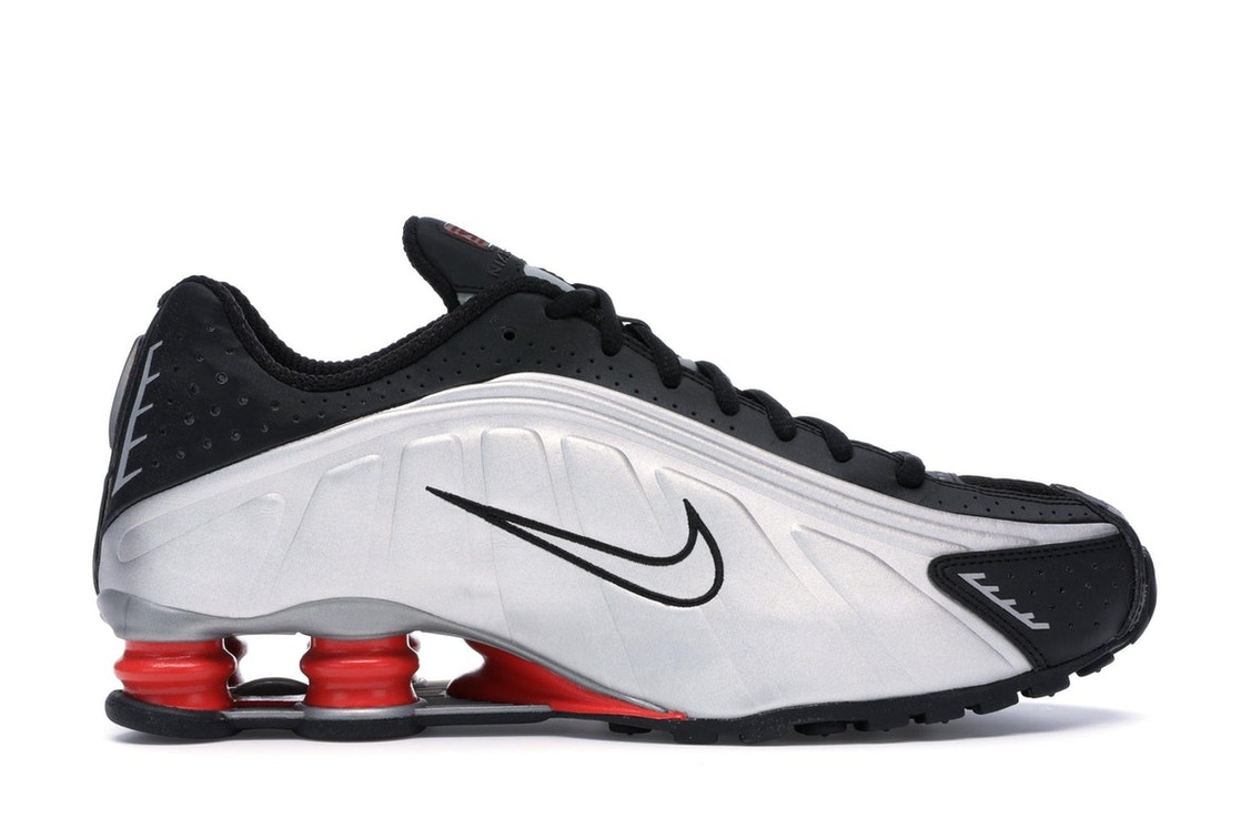 new concept c0cdb f0612 Sell. or Ask. Size  12.5. View All Bids. Nike Shox R4 Black Metallic Silver  ...