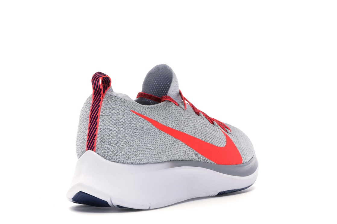 16e3bf709 Nike Zoom Fly Flyknit Pure Platinum Bright Crimson - AR4561-044