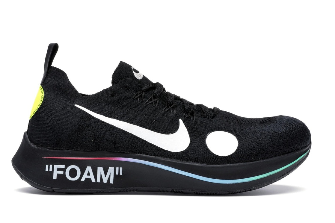 aa75be2ca2cbc Nike Zoom Fly Mercurial Off-White Black - AO2115-001