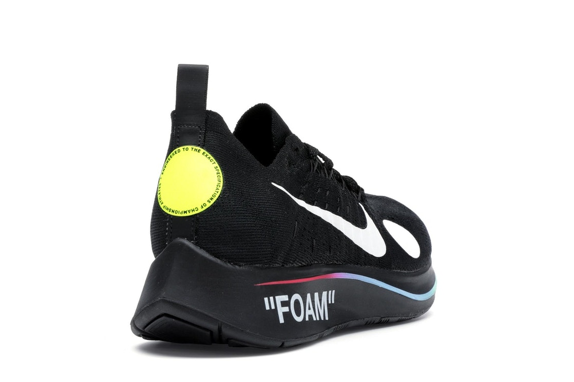 various colors 23fd2 fc7a2 Nike Zoom Fly Mercurial Off-White Black - AO2115-001