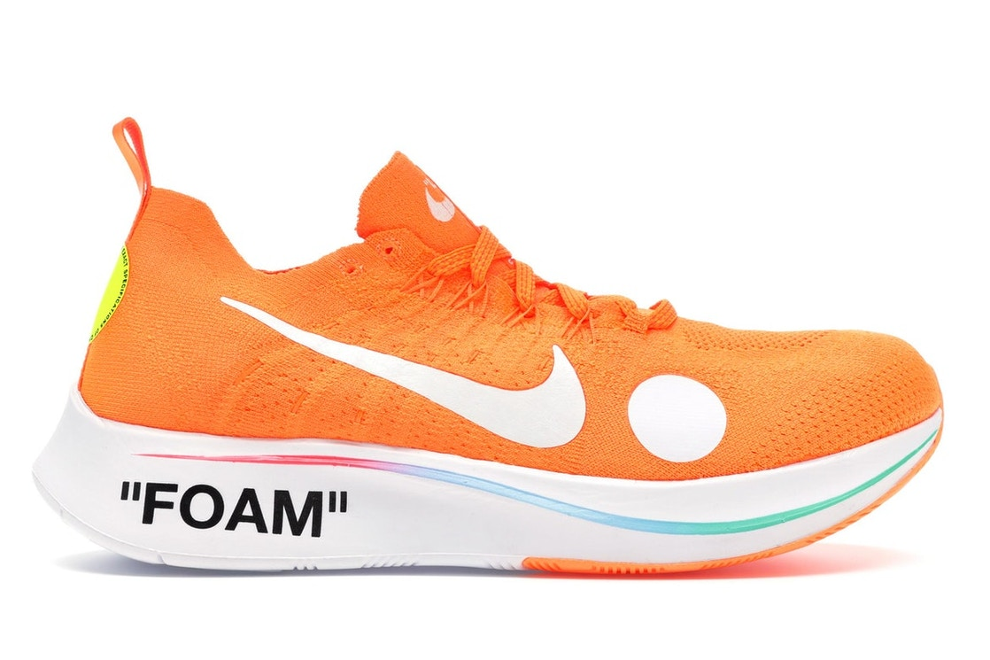 a0ee3116e723 Nike Zoom Fly Mercurial Off-White Total Orange - AO2115-800