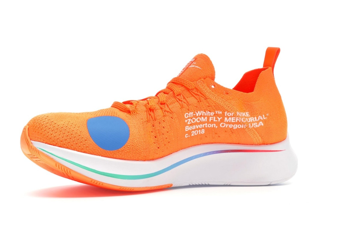 4db700c8b166 Nike Zoom Fly Mercurial Off-White Total Orange - AO2115-800