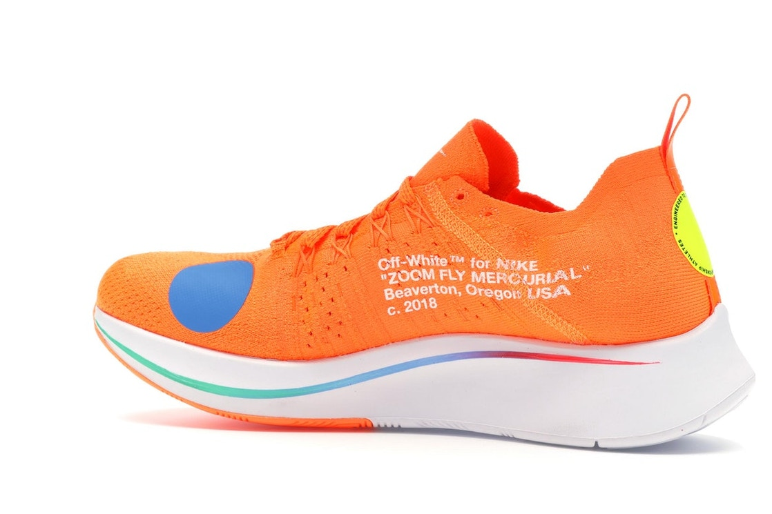 amazing price retail prices authorized site Nike Zoom Fly Mercurial Off-White Total Orange - AO2115-800
