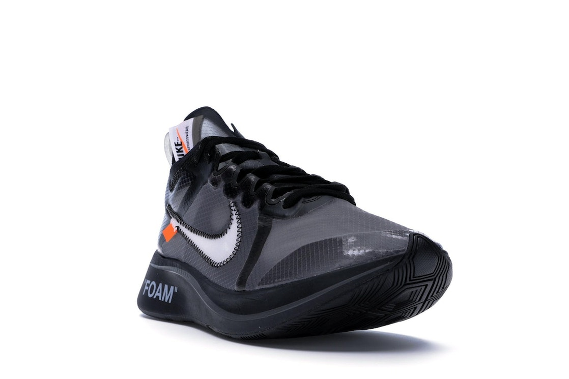 936cc5d3d72 Nike Zoom Fly Off-White Black Silver