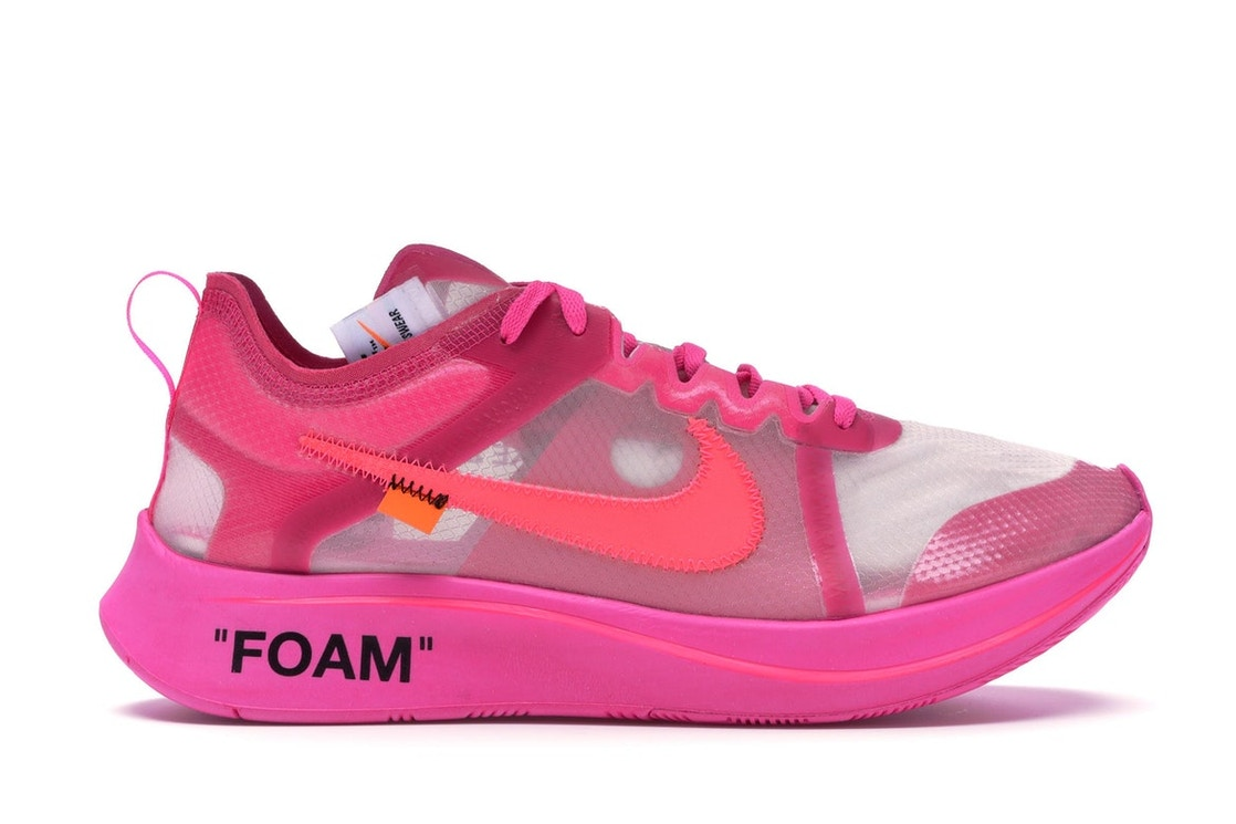 f2d71a376af2 Sell. or Ask. Size 6. View All Bids. Nike Zoom Fly Off-White Pink
