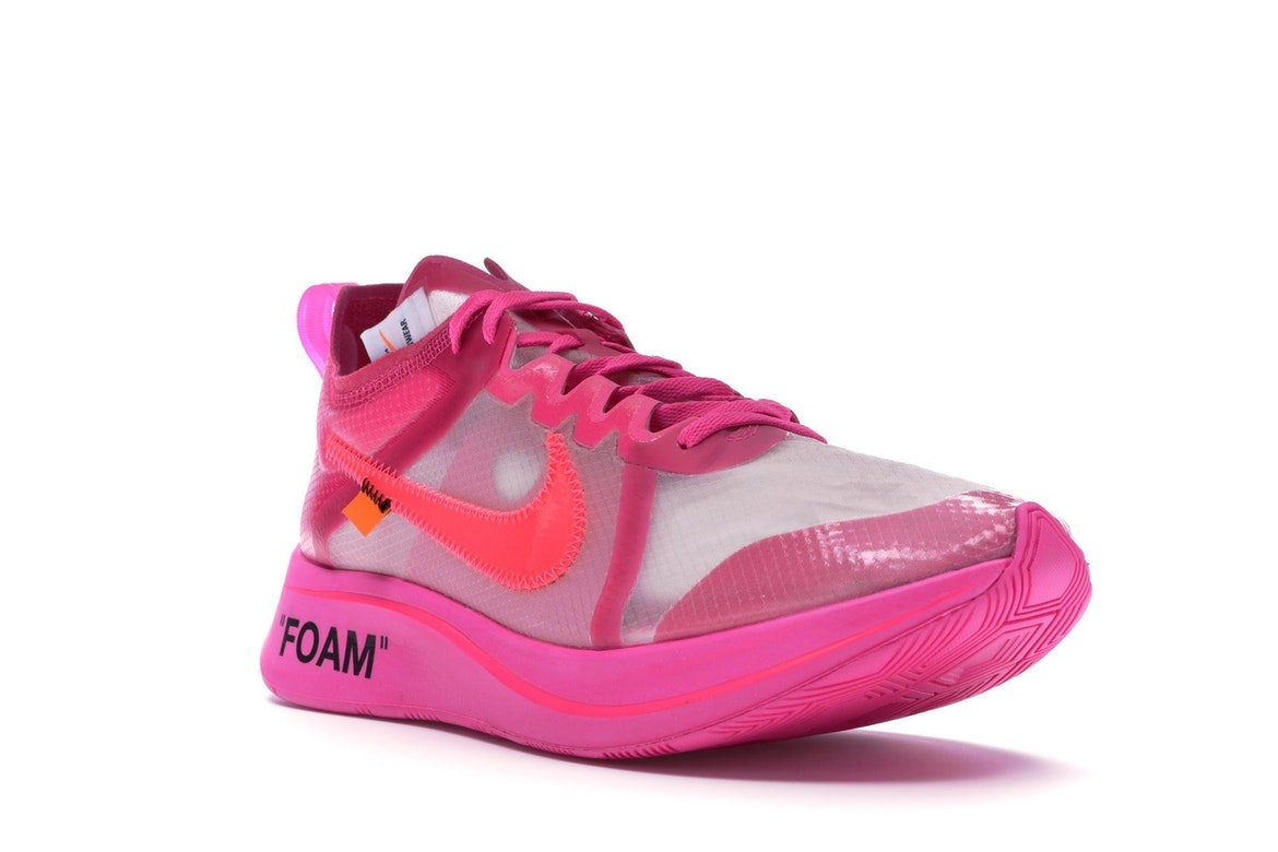 Nike Zoom Fly Off-White Pink - AJ4588-600