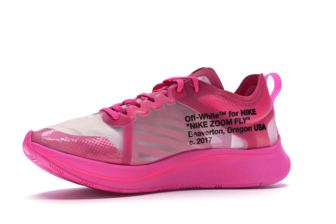 a16d3207 Nike Zoom Fly Off-White Pink - AJ4588-600