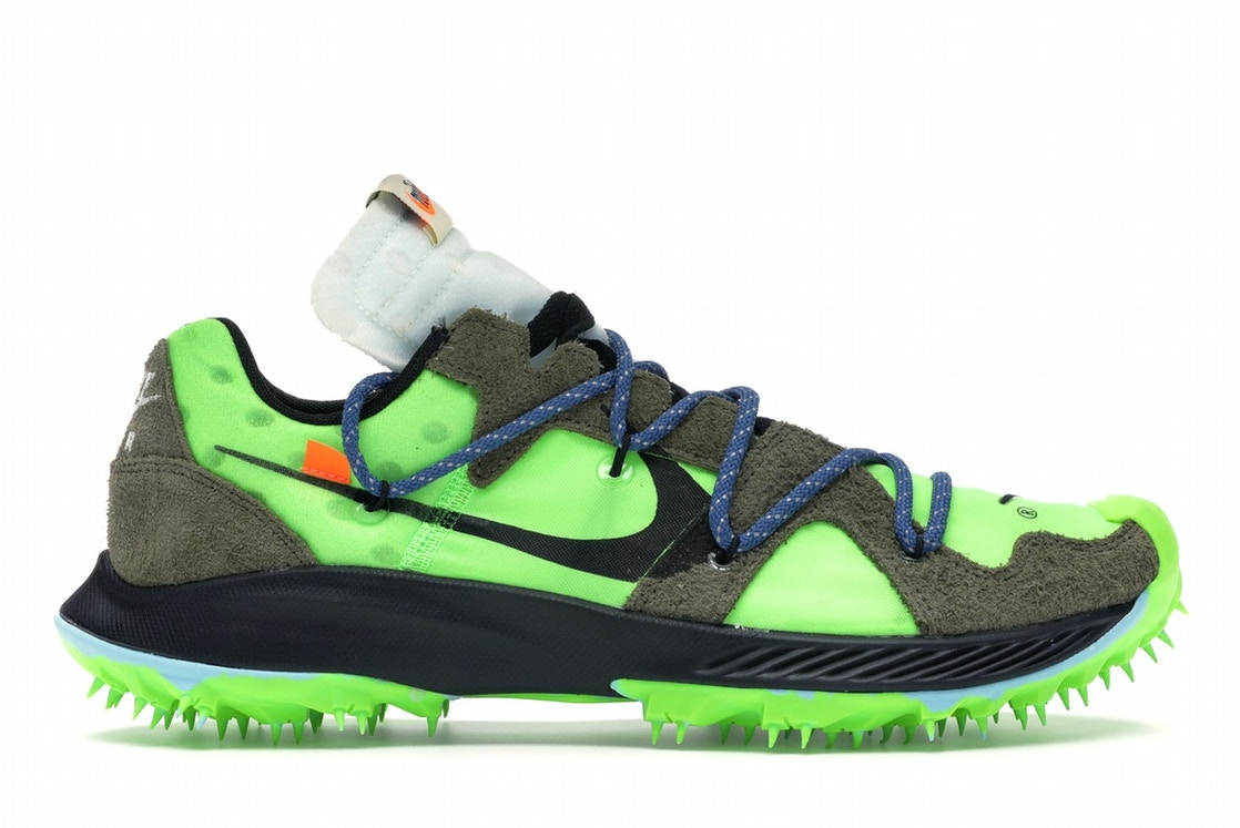 elegant shoes the latest temperament shoes Nike Zoom Terra Kiger 5 OFF-WHITE Electric Green (W)