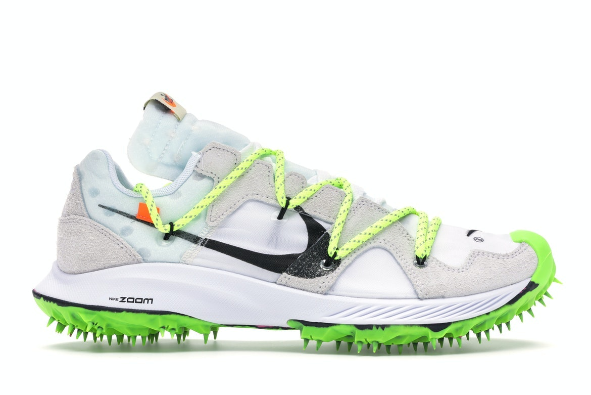 Nike x Off White 'Zoom Terra Kiger 5' Sneakers