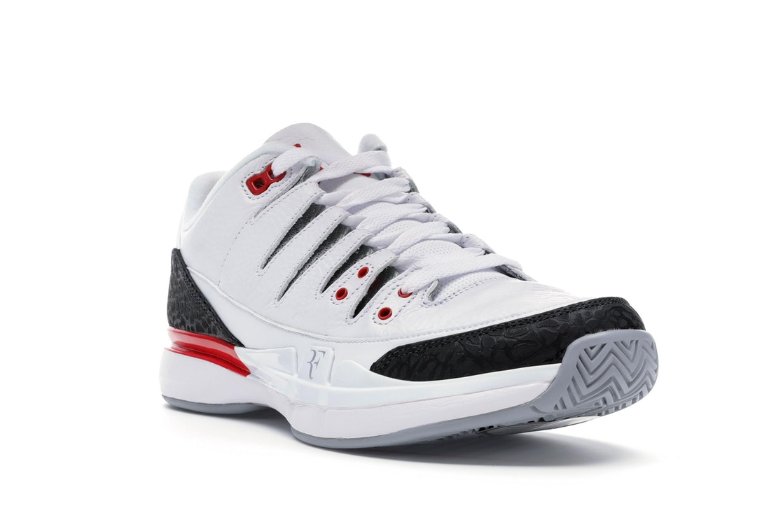 f792eb322acb3c Nike Zoom Vapor AJ3 Fire Red - 709998-106