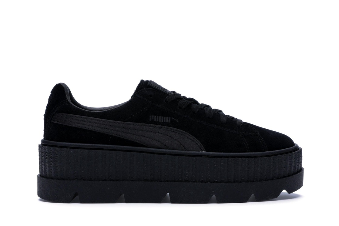 new styles 45d99 8bc11 Puma Cleated Creeper Rihanna Fenty Black (W)