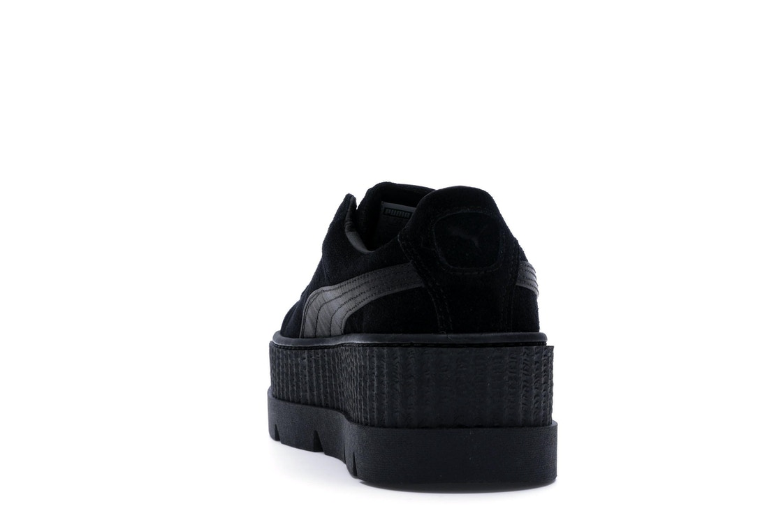 new styles 9b765 71356 Puma Cleated Creeper Rihanna Fenty Black (W)