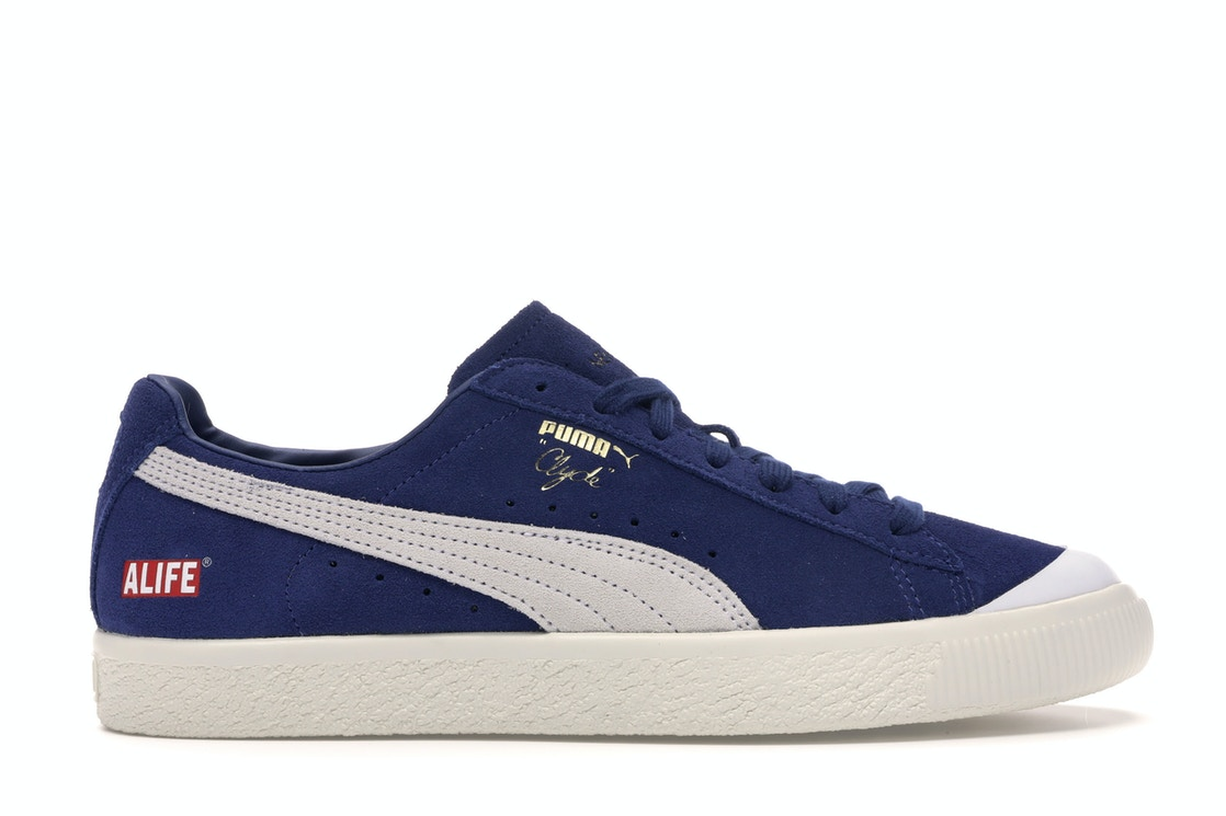 outlet store fcfcf 6735a Puma Clyde Alife New York Navy